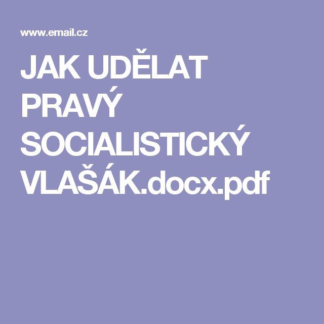 JAK UDĚLAT PRAVÝ SOCIALISTICKÝ VLAŠÁK.docx.pdf