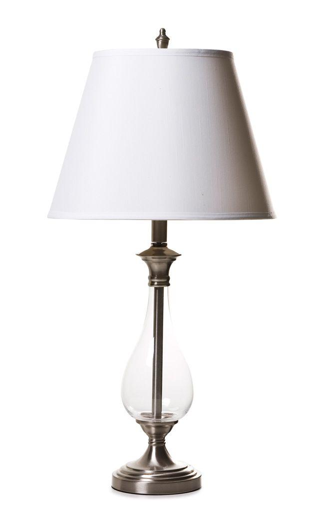 LAMP GLASS BASE BLOOMINGDALE