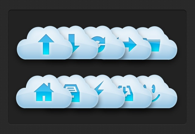 Vector Cloud Icons