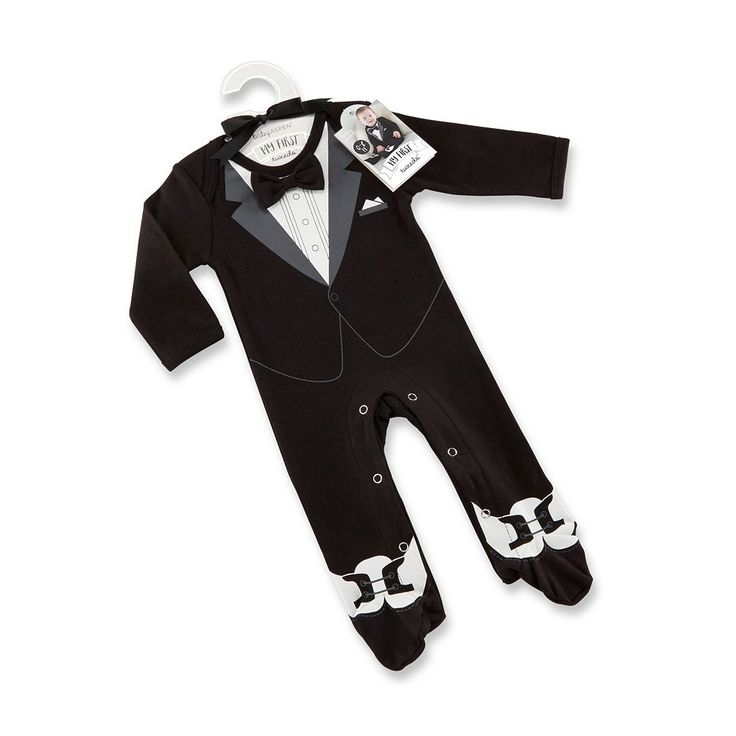 Baby Boy Baby Aspen My First Tuxedo, Black