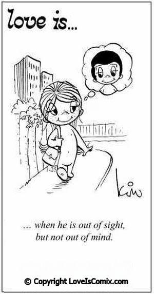 Love is... Comic for Sat, Jun 12, 2010