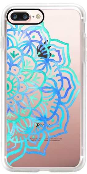 Casetify iPhone 7 Plus Case and other Boho iPhone Covers - Watercolour Medallion by Micklyn Le Feuvre | Casetify