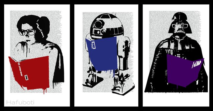 May the Posters Be With You | Hafuboti