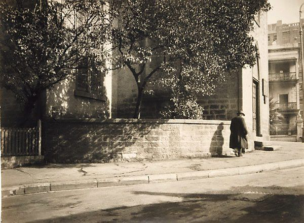 An image of Around the corner by Harold Cazneaux