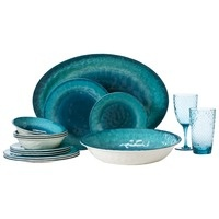 Home Reactive Teal Salad Plates- Set of 8 : Target