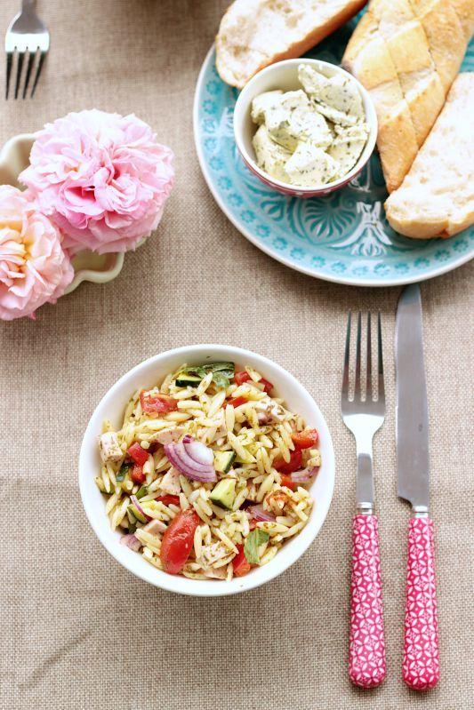 Kritharaki / Orzo Salat ~ SASIBELLA