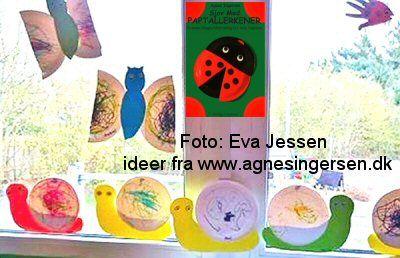 Eva Jessen fra Eventyrhuset i Fredericia sendte mig for et år siden disse billeder :)   Eventyrhuset havde holdt fernisering og udstillet sneglene, sommerfuglen og fiskene fra mine bøger :)  Læs mere her:  http://agnesingersen.dk/blog/eventyrhusetfredericia  1000 tak for billederne Eva :) :)  #diy #kidscraft #childrencraft #craftsforkid #AgnesIngersen   #snail #snegl #sommerfugl #butterfly #fisk #fish #kriblekrable