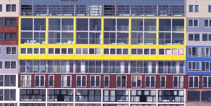 #Architecture in #Amsterdam - Silodam #Housing by MVRDV, ph Rob 't Hart
