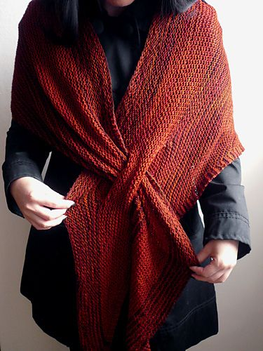 Ravelry: Midori's Scalene in Wollmeise and ....