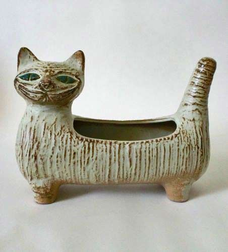Шведско-керамическая кошка-посадочная