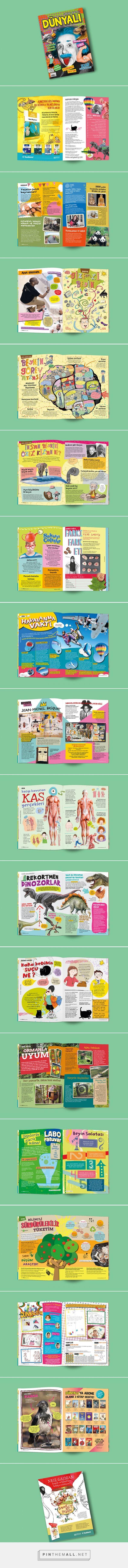 Dünyalı Dergi 13 - Dünyalı Magazine for kids on Behance - created via http://pinthemall.net
