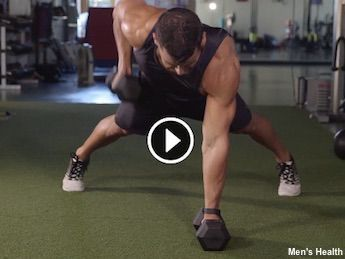 It's time to put out a HIIT on belly fat. This workout from Men's Health Fitness Director B.J. Gaddour, C.S.C.S., uses high-intensity interval trainin...