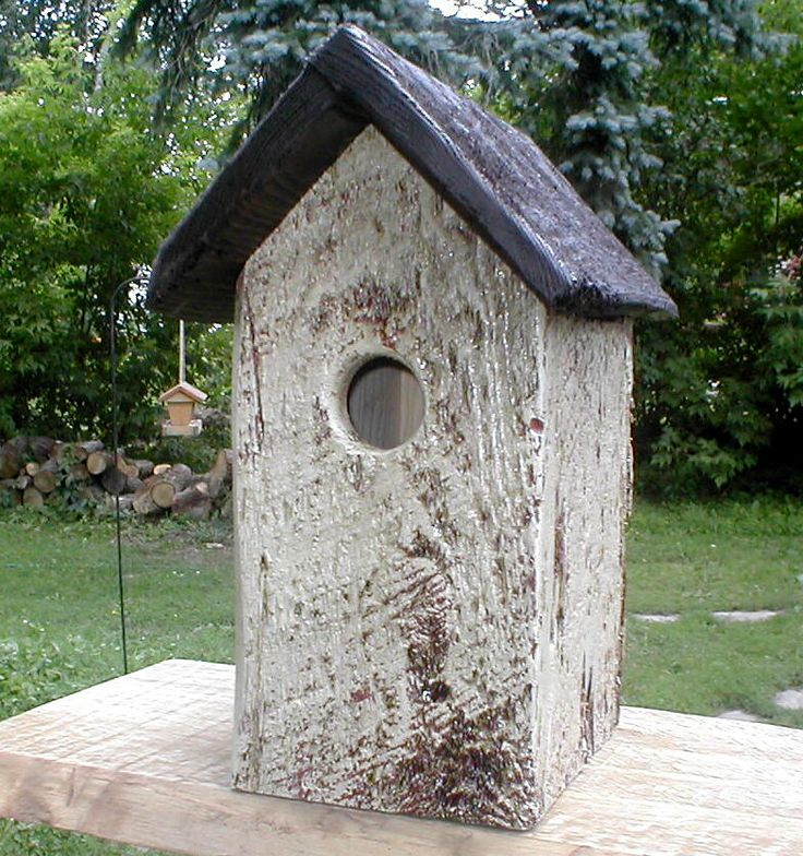 Image detail for Rustic Bird Houses 15