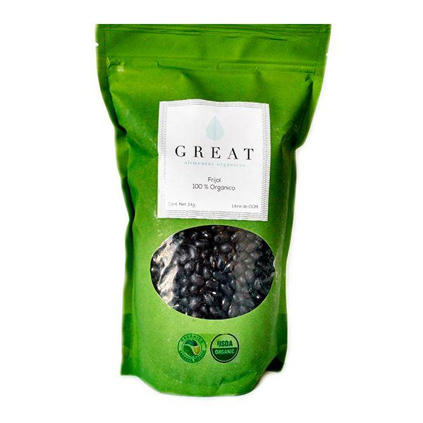 Frijol negro orgánico exquisitos y deliciosos