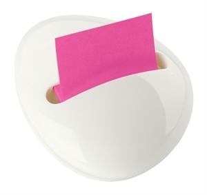 Post It Note Pebble Dispenser. Love it in white.