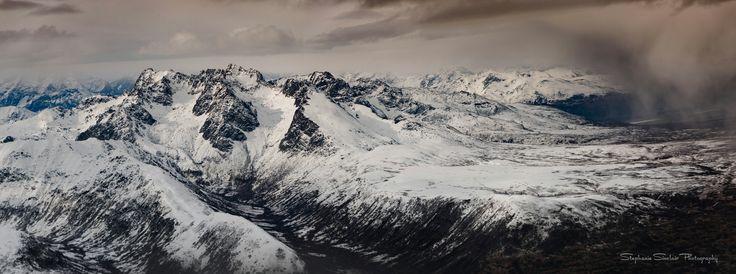 Denali National Park, Alaska #Alaska #Denali #seattleempress #panorama #landscape #mountains #snow #StephanieSinclair  #aerialphotography #photography #travel #FindYourPark #nature