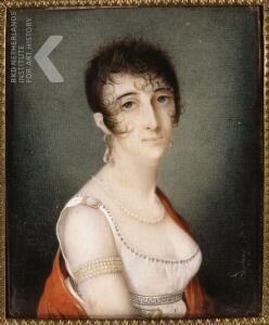 Portret van Marie Eleonora Bauduin (1776-1867)