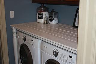 DIY Washer/Dryer Counter