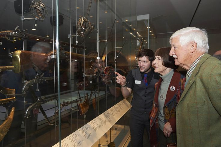 Weapons on display at Culloden