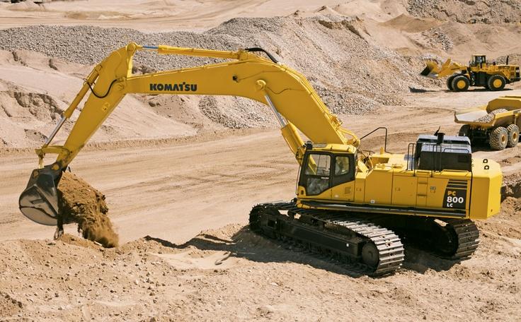 Komatsu excavator PC800LC-8