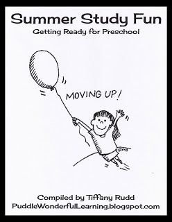 Preschool Activities: Summer Study Packet {Summer Kick-Off