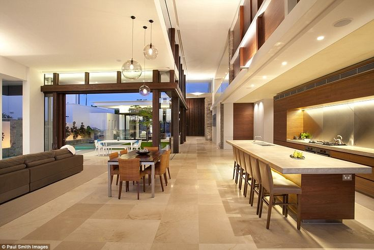 The luxurious house also won two other national categories set out by the National Association of Building Designers