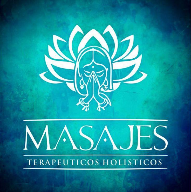 logotype masajes olisticos