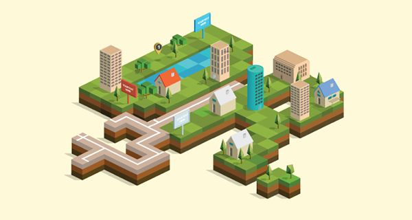 Isometric City Map Builder (UPDATED) on Behance