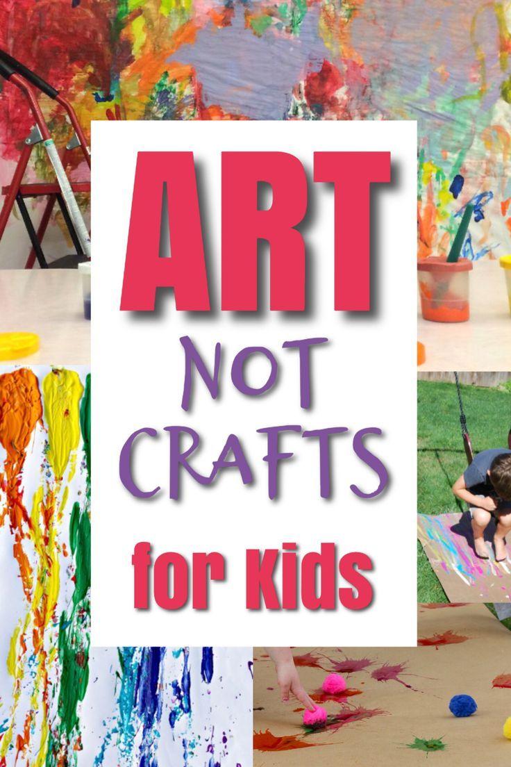 Atividades de arte bagunçadas para crianças   – Arbeit