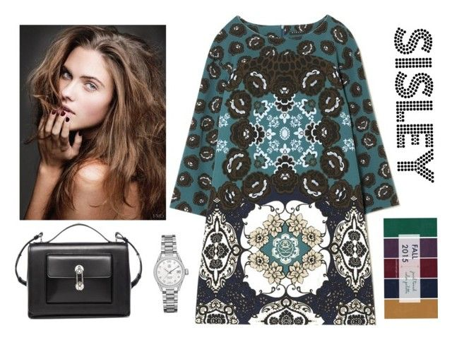 sisley by julimatveeva on Polyvore featuring Balenciaga and Tag Heuer