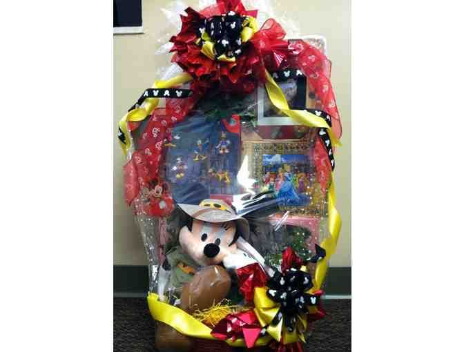 27 best disney themed baskets images on pinterest gift basket place a bid on disney themed gift basket to help support the mpi oh fundraising auction negle Choice Image