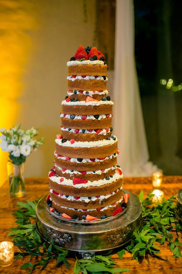 Berry naked cake | The Nichols