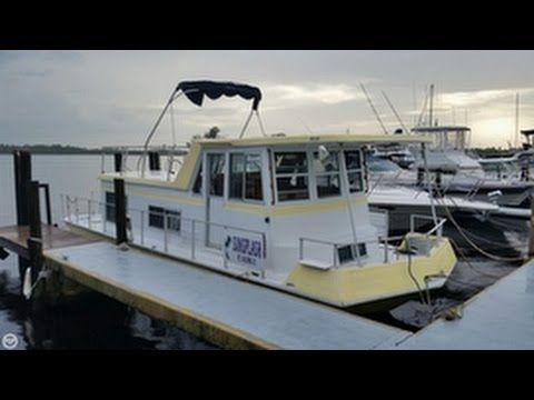 used 1970 nautaline 34 houseboat for sale in jensen beach florida youtube houseboat. Black Bedroom Furniture Sets. Home Design Ideas