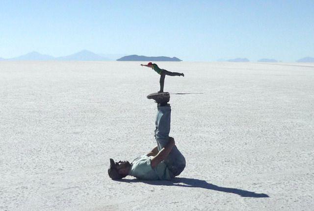 Le foto più divertenti scattate nel Salar de Uyuni, Bolivia