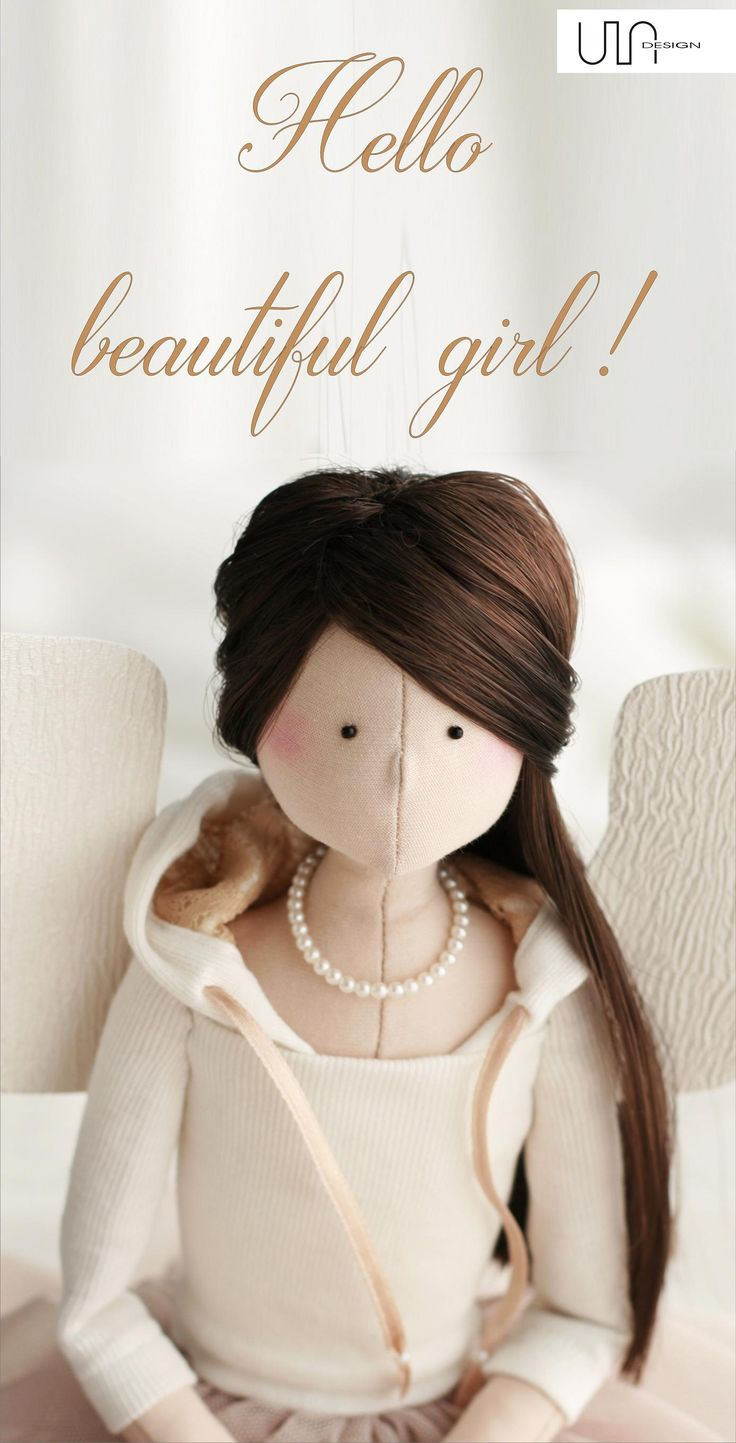 handmade angels dolls tilda sewing doll angel tildas angeles