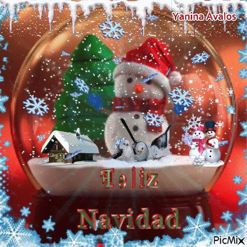 Que esta Navidad sea de felicidad, paz, amor y de bendiciobes
