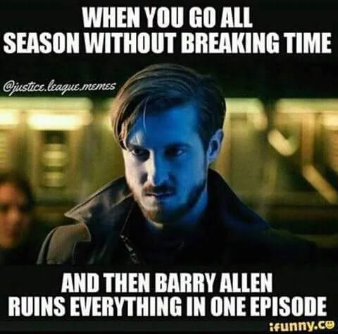 The Flash is still my favorite show but really Barry!?