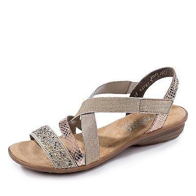 NEU  Rieker Sandale gold