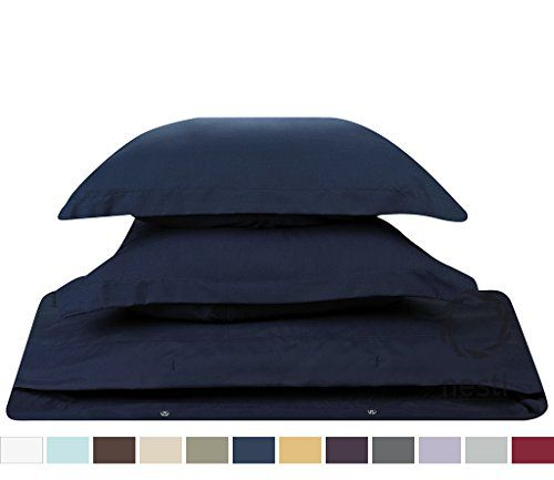 #1 Amazon Best Seller, 3-Piece Duvet Cover /1 Comforter Cover,- with 2 shames, (King Solid Navy Blue,) By Nestl Bedding Supplies, Nestl Bedding http://www.amazon.com/dp/B00WYQ84TW/ref=cm_sw_r_pi_dp_MEMPvb0AJCECW