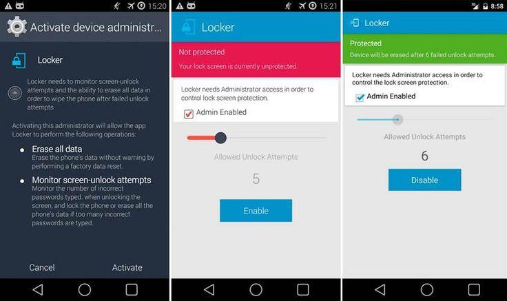 Locker, el protector que necesitas para Android si quieres medidas extraordinarias