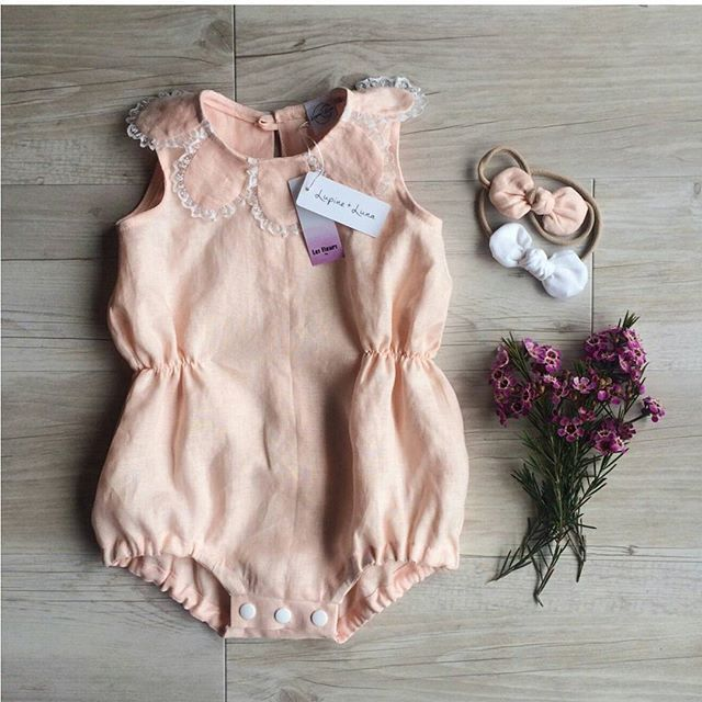 size 00 and size 1 left in the peach linen romper!! 30% OFF now!