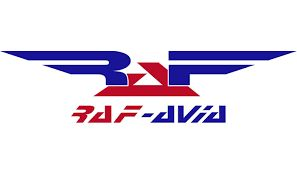 RAF-Avia Logo. (LATVIAN).
