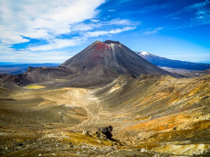 Tongariro Crossing, Taupo, North Island, NZ