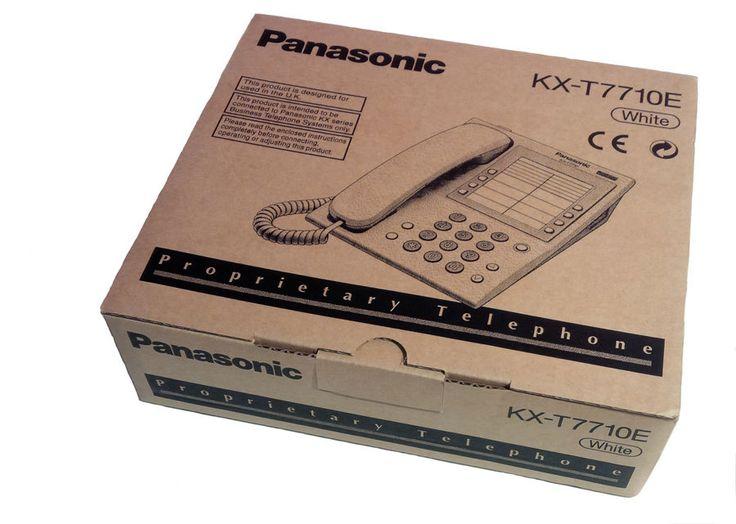 Panasonic KX-T7710 Handset In White - HeyMot Communications