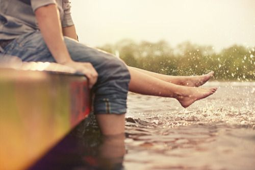 : Engagement Photo, Summer Day, Dreams, Quote, Country Engament Pictures, Engagement Pics, Couple Photography In Water, Country Life, Enjoying Life