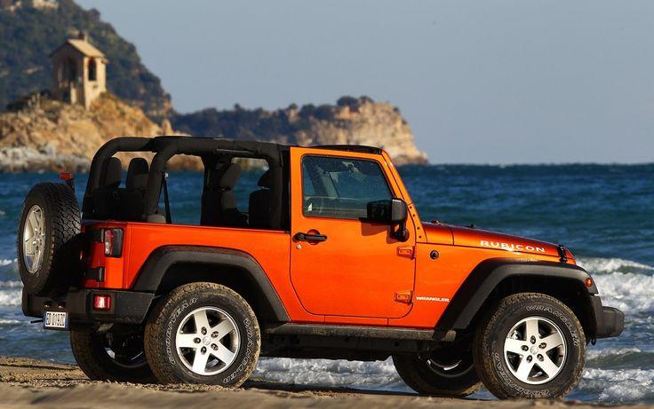 Jeep Wrangler Rubicon Orange Image