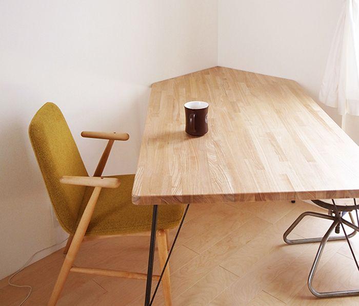 6ステップで大満足! 部屋にぴったり合うテーブルをDIYしてみた | roomie(ルーミー)
