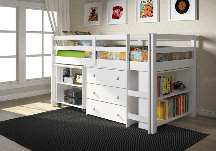 Tiny Box Room Ikea Stuva Loft Bed Making The Most Of: Best 20+ Loft Bed Curtains Ideas On Pinterest