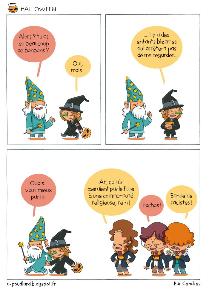À Poudlard / At Hogwarts - Harry Potter Parody: Halloween