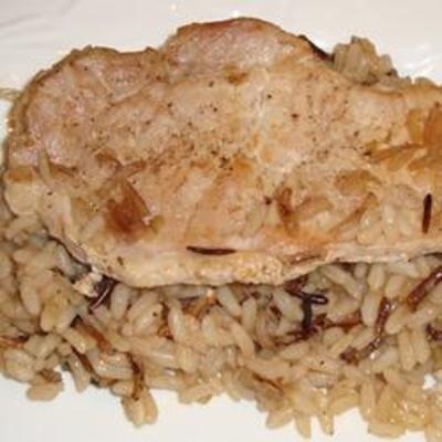 Onion Soup Pork Chops